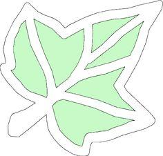 Herfstblad raamhanger knutselen.  Dit blad alleen als voorbeeld laten zien en…