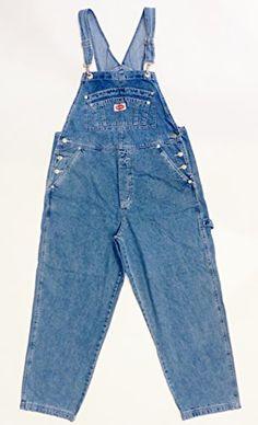 Revolt Women's Plus Size Denim Jean Blue Overalls Size 22