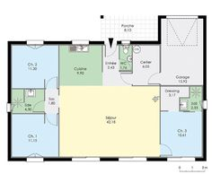 Nice Maison Plan Plain Pied that you must know, You?re in good company if you?re looking for Maison Plan Plain Pied Architecture Plan, Best Wordpress Themes, Good Company, Autocad, Planer, Tiny House, House Plans, Sweet Home, Villa