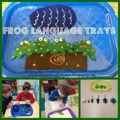 Discovery Kidzone Montessori Adventures: Montessori Monday Pond Trays