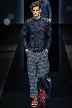 Giorgio Armani Spring/Summer 2017 Menswear Collection