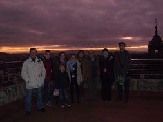 31-12-2011: Puesta de sol desde la terraza de la Facultad de Historia USC