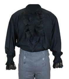 Bellamy Shirt - Black