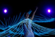 A dancer performs during the Opening Ceremony of the Sochi 2014 Winter Olympics at Fisht Olympic Stadium on February 7, 2014 in Sochi, Russi...