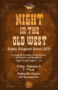 Daddy daughter dance theme idea