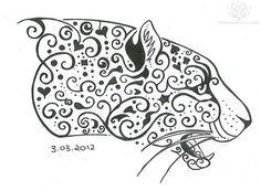 head-jaguar-tattoo-design.jpg (812×598)