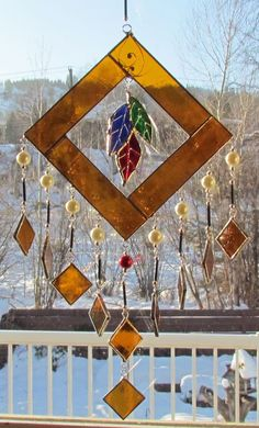 Chimes made by Lori Ann Shumey