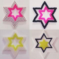 Stars hama beads by mariewehnert