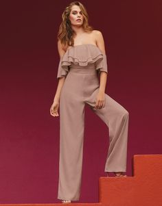 2a5ff9763a This fab jumpsuit is a stunning addition for your evening wardrobe. This  jumpsuit features a