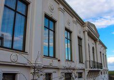 Fatada salon de evenimente cu profile decorative CoArtCo Multi Story Building, Profile, Decor, User Profile, Decoration, Decorating, Deco