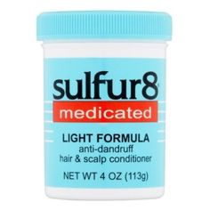 Sulfur8 Medicated Light Formula Anti-Dandruff Hair & Scalp Conditioner 4 oz $5.19   Visit www.BarberSalon.com One stop shopping for Professional Barber Supplies, Salon Supplies, Hair & Wigs, Professional Product. GUARANTEE LOW PRICES!!! #barbersupply #barbersupplies #salonsupply #salonsupplies #beautysupply #beautysupplies #barber #salon #hair #wig #deals #sales #Sulfur8 #Medicated #Light #Formula #AntiDandruff #Hair #Scalp #Conditioner