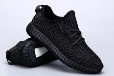 Cool Y 350 Boost Pirate Black Best Quality Black Pirates With Shoes Box Women…