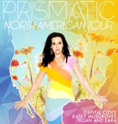 Promo for Katy's North American tour [OC]