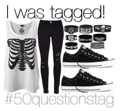 """I got tagged!"" by the-pastel-goth ❤ liked on Polyvore"