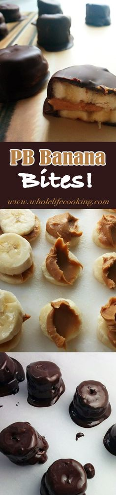 A semi-healthy twist to the ordinary banana using semi-sweet chocolate and creamy peanut butter. |www.wholelifecooking.com