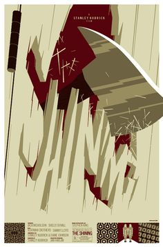 """The Shining"" by Tom Whalen (www.strongstuff.net)"