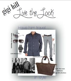 Gigi Hill - Live the look. Have him travel in style.