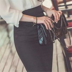 Buy 'ERANZI – Slit-Back Pencil Skirt' with Free International Shipping at YesStyle.com. Browse and shop for thousands of Asian fashion items from South Korea and more!