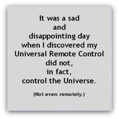 Dad Jokes, Funny Jokes, Hilarious, Silly Memes, It's Funny, Funny Laugh, Universal Remote Control, Sad Day, I Love To Laugh