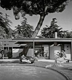 1958 --- Case Study House #20  (Bass House) #mrcalifornia