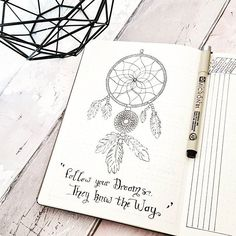 Hello nice community! It's drawing day in my bullet journal...Here is my first…