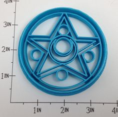 Sailor Moon Crystal Locket Cookie Cutter- I'm still in shock about their existence and the fact that I don't own them.