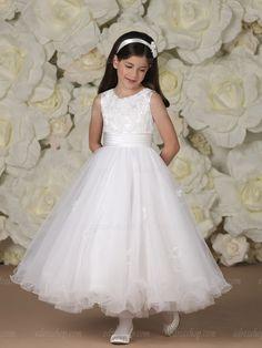 Joan Calabrese Communion Dress White Princess First Communion Dress - Girls  First Holy Communion Dress - Joan Calabrese Communion Dress Pre facb6b6715