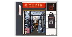 Madrid, Gastronomia, Gourmet, Literatura, Illustrations