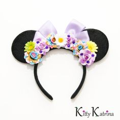 Rapunzel Mouse Ears Headband, Rapunzel Dress, Rapunzel Costume, Rapunzel Crown, Rapunzel Birthday Party, Disney Bound, Disney Ears