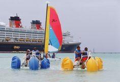 Private island fun at Disney's own island, Castaway Cay
