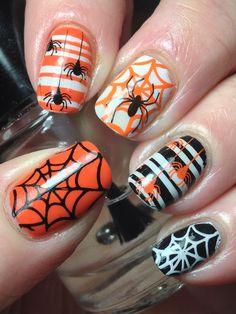 Hallowe'en Spiders!