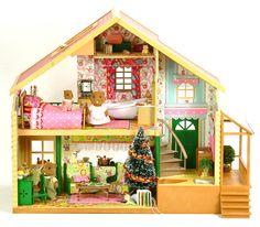 Sylvanian Families Cath Kidston Kaffe Fassett Decorated Furnished House | eBay fistuff