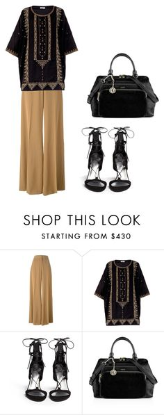 #ootn #dressy by beatrice-a on Polyvore featuring Mes Demoiselles..., STELLA McCARTNEY, Stuart Weitzman and DKNY