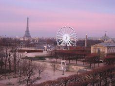 Twilight in the City of Light