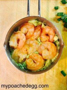 Spicy California Shrimp Rols
