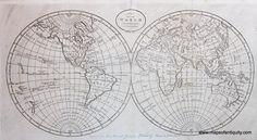 Antique-Map-of-the-World Antique Map www.mapsofantiquity.com