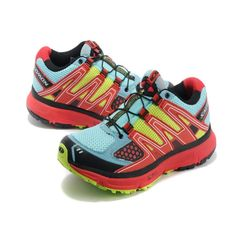 RSS Product Feed :: Chaussure Salomon XR Mission Femme Maille Respirante Noir Bleu Rose