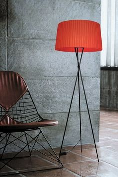 Sticks Floor Lamp - Red on HauteLook