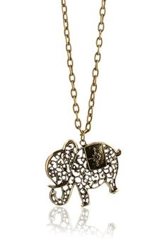 Studded Elephant Pandent Price: Rs 349