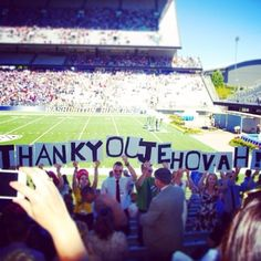 """""""Thank you, Jehovah!"""" (from the International Convention in Seattle, Washington July 2014)"""