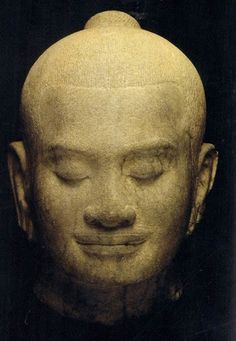 Jayavarman VII, prince of the Khmer Empire Found in modern-day...