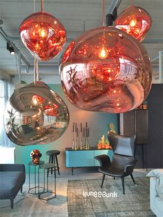 melt mini hanglamp goud tom dixon lampen haus dekoration dekoration haus. Black Bedroom Furniture Sets. Home Design Ideas