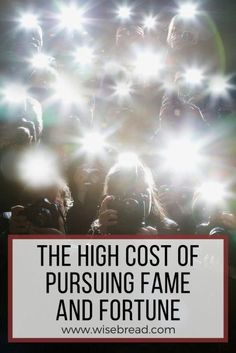 The High Cost of Pursuing Fame and Fortune | Life Hacks | Finance Tips | #lifehacks #finance #financetips #personalfinance #futureplanning