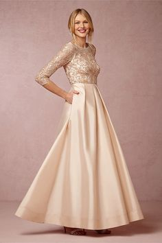 elegant mother of the bride dress
