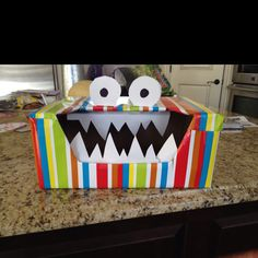 Valentine Muncher Monster - made this last valentines day!  Super easy