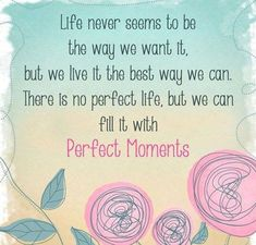Perfect Moments..be grateful!