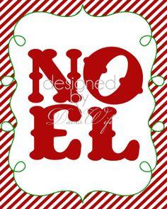 Free 8X10 Christmas Sign Printables