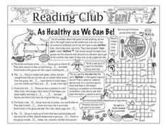 AS HEALTHY AS WE CAN BE - Enjoy a Nutrition and Food Groups-themed Two-Page Activity Set and Word Search Puzzle with this discounted bundle! Includes the following products:  Nutrition and Food Groups Two-Page Activity Set  Nutrition and Food Groups W
