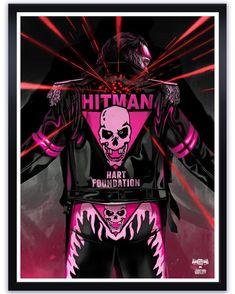 "Bret ""The Hitman"" Hart Wrestling Posters, Wrestling Wwe, Hitman Hart, Jeff Hardy, Shawn Michaels, Wwe Wallpapers, Wrestling Superstars, Hulk Hogan, Comic Movies"