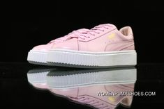 Puma White-Gold Basket Platform Core 364040-03 Pink Top Deals 067d89e71
